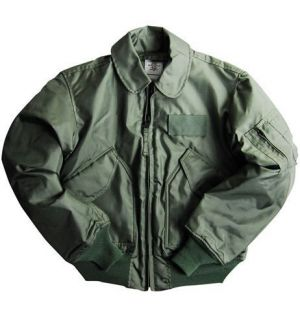 1766937ceaaf ... Alpha Industries CWU 45 P NOMEX Mil Spec Flight Jacket Winter Weight ...