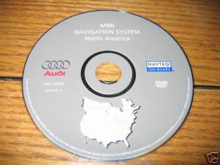 2004 2006 audi navigation disc dvd usa canada a4 a8