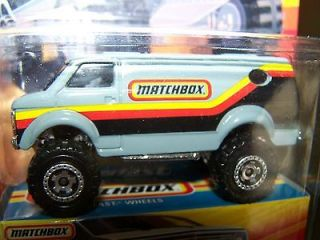 HOT WHEELS MATCHBOX SUPERFAST GREY 4 X 4 CHEVY VAN 1 OF UP TO 15,500