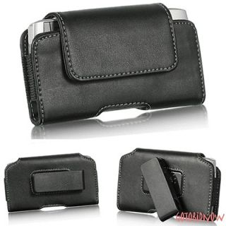 for NOKIA LUMIA 710 PREMIUM H LEATHER PROTECTIVE PHONE POUCH ROTATE