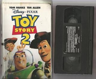 disney pixar toy story 2 vhs 2000 clamshell 100 s