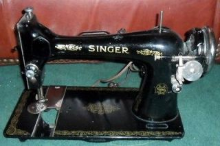 antique 1899 singer sewing machine w emc motor and revco