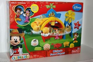 JUNIOR FISHER PRICE MICKEY MOUSE CLUBHOUSE MICKEYS FARM PLAYSET