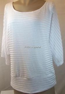 New Dressbarn Womens Plus Size Clothing White Shirt Top Blouse 16 20
