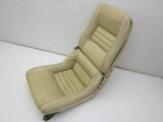 Corvette Original Drivers Side Clam Shell Bucket Seat Assembly 1979