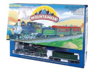 bachmann g scale train 1 22 5 set mountaineer 90048