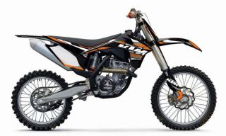 KTM Gravity FX Graphic Kit 2011 12 125 500 SX/SX F/XC, 2012 XC W/EXC