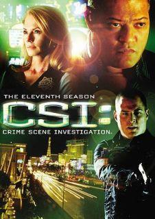 CSI Crime Scene Investigation   The Eleventh Season (DVD, 2011, 6