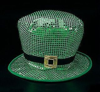 jumbo sequin st patrick day leprechaun hat costume