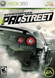 Newly listed Need for Speed ProStreet (Xbox 360, 2007) NO MANUAL