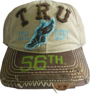 NWT TRUE RELIGION True Ath. Dep. Ball Cap HAT OSFA Style#TR1400 Color