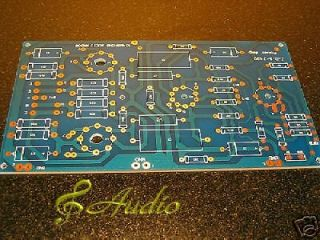 el34 tube amp bare pcb upgraded design of jadis ja30