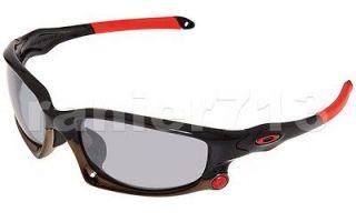 NEW Oakley Split Jacket Sunglasses Polished Black/Slate Iridium Asian