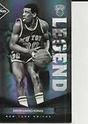 Panini Gold Standard BERNARD KING AUTO 100 199 New York Knicks