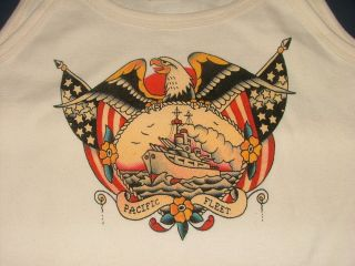 SAILOR JERRY OLD SCHOOL STYLE TATTOO SHIRT BY SOURPUSS CLOTHING