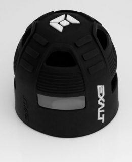 new exalt paintball tank grip cover black one day shipping