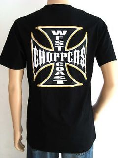 CHOPPERS T SHIRT VINTAGE CUSTOM MOTORCYCLES BIKER WORLD BIKE RIDERS