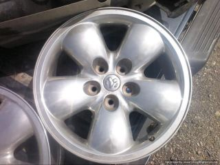 04 05 DODGE RAM 1500 Factory Wheel Rim 20x9 Polished Aluminum #2167B