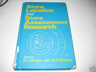 Store Location & Store Assessment Research  Davies ~V9