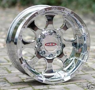 16 inch chrome Wheels Moto Metal 955 Chevy HD Gmc Dodge 2500 3500 8