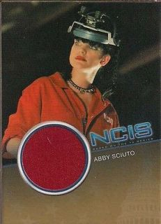 NCIS PREMIUM PAULEY PERRETTE ABBY SCUITO RED LAB COAT COSTUME CARD