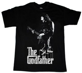 TONY IOMMI THE GODFATHER HEAVY METAL OZZY DIO NEW BLACK T SHIRT