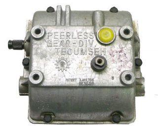 Tecumseh Lawnmower Transmission Peerless 36 spline 1/2