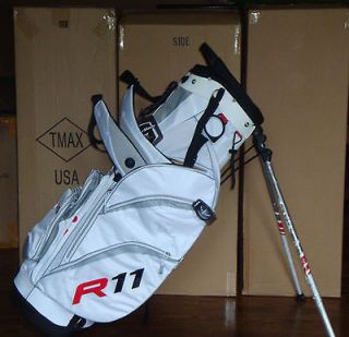 New 2012 TaylorMade R11 Pure Lite 3.0 Golf Stand Bag White