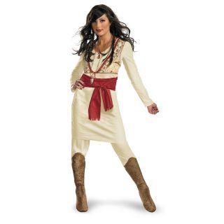 PRINCESS TAMINA DISNEY PRINCE OF PERSIA HALLOWEEN COSTUME ADULT S M L