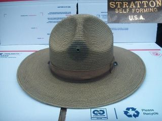 us army drill sergeant campaign hat b smokey bear 6