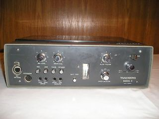 Tandberg Model 11 Reel to Reel Battery Operated Tape Recorder