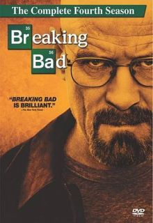 Breaking Bad The Complete Fourth Season New DVD Ships Fast