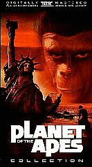 Planet of the Apes   Legacy Box Set VHS, 1998, 5 Tape Set
