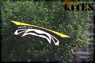 New USA Power Traction Stunt Sport Kite Quad 4 Line ProMaximos 5 Yr