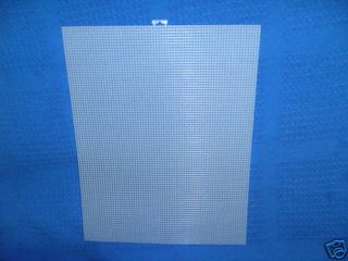 sheets of 10 count plastic canvas size 13 x 10 5  14 03