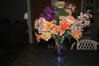 newly listed large artificial flower arrangement  9