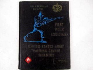 ARMY Training Infantry 5th Brigade Fort Polk Company D Yearbook 1967