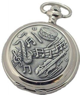 musical pocket watch in Jewelry & Watches