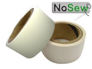 NoSew Ripstop Nylon Sail Repair Tape l 25 ft Roll l CLEAR