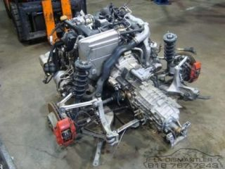 Porsche 911 996 Twin Turbo Engine Motor and 6 Speed Transmission