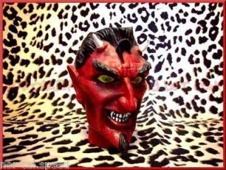 rockabilly hot rod rat car Devil Head shift knob project handle custom