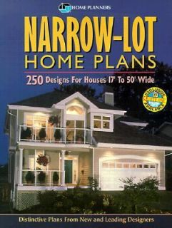 for Houses 17 to 50 Wide by Home Planners 1999, Paperback