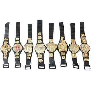 5pcs 5 wrestling champion belt for wwe figure from china