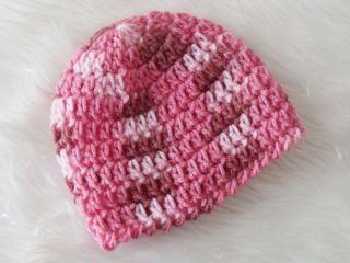 Premmie Preemie Prem Baby Knitted Crochet Beanie Bonnet Hat NEW AUSSIE