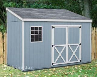 x10 slant lean to style shed plans see samples