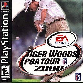 Tiger Woods PGA Tour 2000 Sony PlayStation 1, 2000