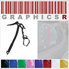 Sticker Decal Vinyl Graphic Window Wall Ice Climbing Axe and Strap