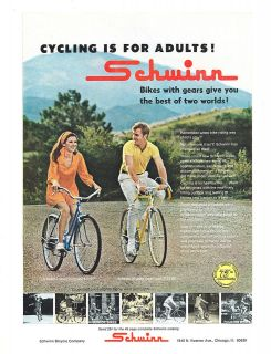 1970 Schwinn Collegiate 5 speed Super Sport 10 speed Bike Bicycle