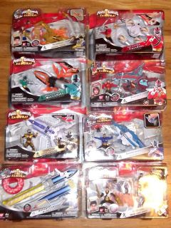 POWER RANGERS SAMURAI ZORD SHARKZORD LIGHTZORD OCTOZORD COMPLETE SET