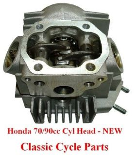 honda 70cc cylinder head complete new ct70 c70 s65 ct one day shipping